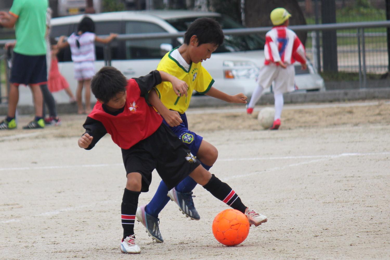 練習試合@花尾小学校 - MIlla Ceroのblog - クラブミジャセロ